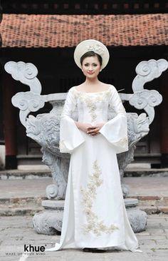 Vietnamese Wedding Dress Ao Dai Cuoi Cach Tan - WR489