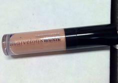 "BareMinerals Marvelous Moxie Lip Gloss in ""Super Power"" (soft peach nude) (0.07 fl oz). Retail $18/full size 0.15 fl oz. Brand new. SELL PRICE: $4."