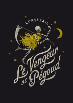 Le Vengeur de Pégoud on Typography Served