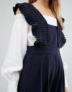 Image 3 of Style Mafia Frill Detail Jumpsuit