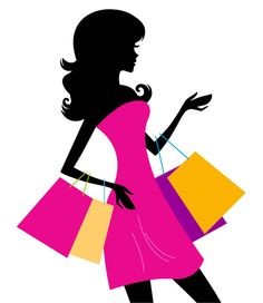 Woman shopping silhouette isolated on white Shopping girl with pink bags silhouette. Vector illustration Created: GraphicsFilesIncluded: VectorEPS Layered: No MinimumAdobeCSVersion: CS Tags: background Girl Silhouette, Silhouette Vector, Black Silhouette, Street Style Store, Amazing Shopping, Magical Girl, Girls Shopping, Clip Art, Instagram
