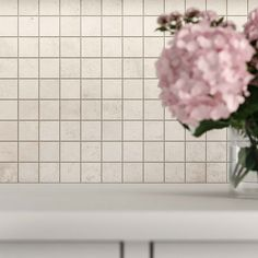 Photo by Atlas Concorde USA on April 12, 2021. May be an image of flower, brick wall and indoor. #Regram via @www.instagram.com/p/CNk4vWzFm40/ Stone Look Tile, Concorde, Tile Ideas, Tile Design, Brick Wall, Neutral, Porcelain, Indoor, Black And White