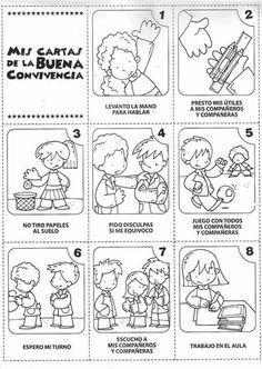 Classroom Rules, Spanish Classroom, School Classroom, Elementary Spanish, Teaching Spanish, Teaching English, Beginning Of The School Year, First Day Of School, Pre School