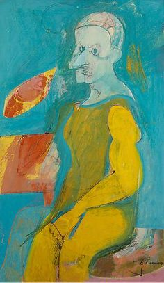 de kooning, willem. self-portrait.