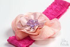 Como fazer uma faixa de cabeça para bebê  #craft #artesanato #facavocemesmo #diy