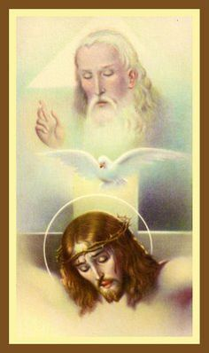 Holy Cards For Your Inspiration - Trinity
