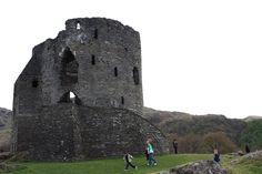 "Dolbadarn Castle, a fortification built by the Welsh prince Llywelyn the Great during the early 13th century, at the base of the Llanberis Pass, in North Wales. The castle was important both militarily and as a symbol of Llywelyn's power and authority. It features a large stone keep, which historian Richard Avent considers ""the finest surviving example of a Welsh round tower""."