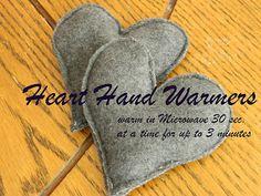 Shelly Homemaker: Heart Hand Warmers