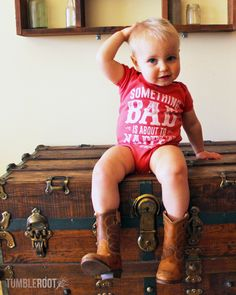 These super cute onesies are perfect for your little country star! Clothing for the most fashionable little cowboys and cowgirls!