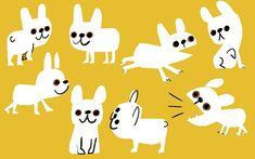 Dog Accessories Clothing - Dog Art Easy - Dog Memes Labrador - Dog Tattoo Jack Russell - Bringing Home A Rescue Dog Dog Illustration, Character Illustration, Character Sketches, Art Illustrations, Character Inspiration, Character Design, Christian Robinson, Kids Prints, Retro Art