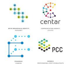 Tendencia Logotipos 2013 - Moleculas