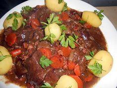 recette Estouffade de boeuf a la lyonnaise