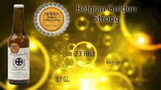 Presentamos la tercera de 3 novedades para este we tripantu, Newen: una cerveza estilo Belgian Golden Strong