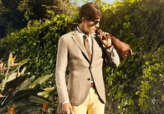 Massimo Dutti Men's Lookbook of May: Punctual to his Appointment with the Elegance ~ Men Chic- Mens Fashion and Lifestyle Online Magazine