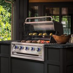 Broil King Regal Built-In Propane Gas Grill - Stainless Steel - 886714 Cal Flame, Propane Gas Grill, Stainless Steel Grill, Ignition System, Grilling, Kitchen Appliances, Cooking, Interior, Diy Kitchen Appliances