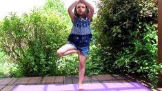 5 Simple yoga poses for kids by kids. Beginner Yoga moves for children. Yoga For Beginners, Beginner Yoga, Surya Namaskar, Mountain Pose, Yoga Youtube, Dog Poses, Easy Yoga Poses, Chair Yoga, Learn Yoga