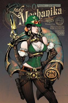 Lady Mechanika Wondercon 2012 by ~joebenitez on deviantART