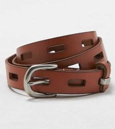 AEO Woven Leather Belt