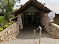 Entrance at Krugersdorp Golf course.