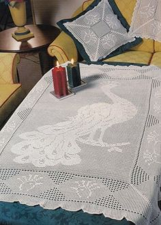 The Tablecloth Peacock — Yandex.Disk