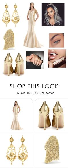 """""""Untitled #2587"""" by vanessa898 ❤ liked on Polyvore featuring Morrell Maxie, Gianvito Rossi, Jose & Maria Barrera, Lynn Ban and Jouer"""