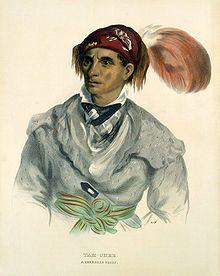 Tah-Chee (Dutch), A Cherokee Chief, 1837