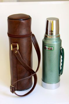 $25 Vintage Alladin Stanley Thermos A-944DH with carrying case by LittleShopofWhatNots on Etsy