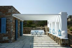 Greek style in Serifos island