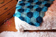 Crochet Pattern sea of Roses Baby Blanket PDF door SweetCrocheterie, $7.00