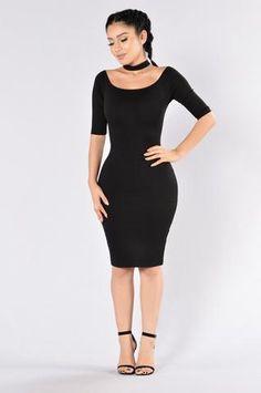Ju Ju On That Dress - Black