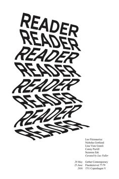 Reader poster by Jennifer James Wright