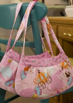 Little Girl Purse using Buttercup Pattern by Made by Rae