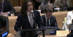 Meet the 15-year-old hero who just gave the U.N. some real talk about the future of his generation. Xiuhtezcatl Roske Martinez