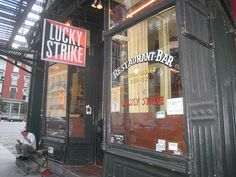 Lucky Strike Restaurant & Bar - Soho - New York City