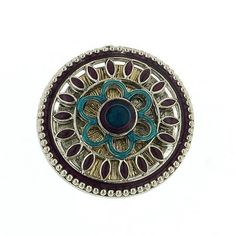 1928 Silver Purple & Turquoise Enamel Ring ($8) ❤ liked on Polyvore featuring jewelry, rings, accessories, blue turquoise ring, turquoise jewelry, turquoise ring, silver rings and purple jewelry