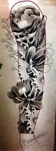 M Tattoos, Sleeve Tattoos, Tattoos For Guys, Japan Tattoo Design, Japanese Tattoo Designs, Mangas Tattoo, Famous Stars And Straps, Mythology Tattoos, Oriental Tattoo