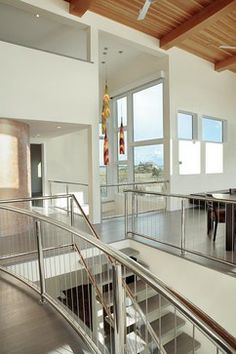 Bruce D. Nagel Architect - modern - staircase  I want this staircase!