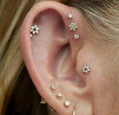 Forward helix piercings                                                                                                                                                                                 More