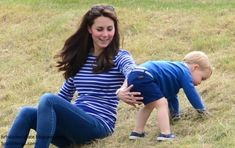 Duchess Kate: Kate Takes Prince George to Watch William Play Polo