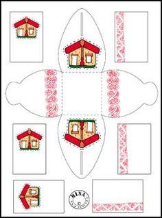 Maori Printables: Maori Gift Box