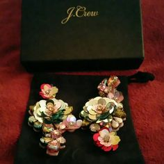 J.Crew Earring's Rhinestone earings J.Crew Factory Jewelry Earrings