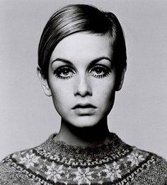 back to the sixties...ahhhhhh! Twiggy eyes!