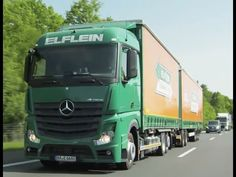 Mercedes-Benz Truck Actros 2545 Gigaliner on the Road Part 1 - YouTube