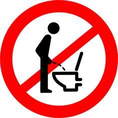 Pictogram Toilet Man Forbidden transparent image