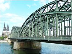 Gateway to the city of Cologne, Germany. Munich, Elba, The Good Place, Travel, Cologne Germany, Bridges, Twitter, Photos, Monuments