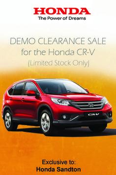 Drive away in a Honda CR-V 2.0 Comfort Auto Today. Claim now Localoffers.co.za Cr V, Honda Cr