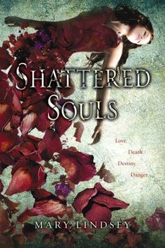 """Shattered Souls by Mary Lindsey: When Lenzi begins hearing voices, she thinks she is a schizophrenic like her father, but what she discovers is that she is a """"speaker"""" who can communicate with the dead in order to help their troubled souls find resolution."""