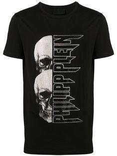 Designs Discover Philipp Plein Skull Logo Print T-shirt - Farfetch Philipp Plein skull logo print T-shirt - White Shirt Print Design, Tee Shirt Designs, Camisa Nike, Phillips Plein, Skull Logo, Skull Print, Tee Shirt Homme, Shirt Men, Design Logo