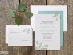New Wedding Invitation Designs - Deco Thistle