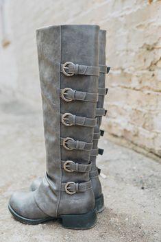 59f619ace7f Kara - Knee Height Womens Boot With Zipper